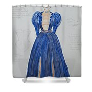 Olga From 'the Three Sisters' Shower Curtain
