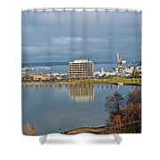 Olympia Lake Shower Curtain