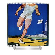 Olympic Games, 1928 Shower Curtain