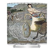 Olympic Games, Antiquity Shower Curtain by Granger