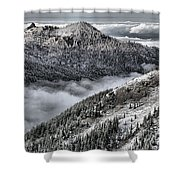Olympic Ridge Shower Curtain