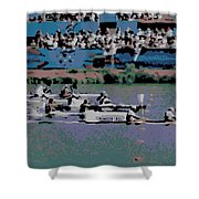 Olympic Rowing Shower Curtain