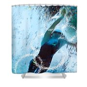 Olympics Swimming 02 Shower Curtain