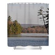 On Bear Creek Lake Shower Curtain