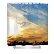 On Eagle's Wings - 2 Shower Curtain
