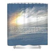 On High Shower Curtain