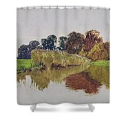 On The Arun Stoke Sussex  Shower Curtain