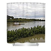 On The Danube Shower Curtain