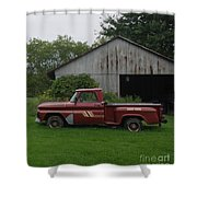 On The Farm Shower Curtain