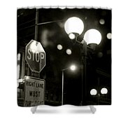 On The Road 2 Shower Curtain