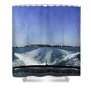 On The Water 5 - Venice Shower Curtain