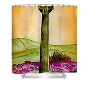 On The Yorkshire Moors Shower Curtain