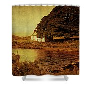 Once Upon A Time. Somewhere In Wicklow Mountains. Ireland Shower Curtain by Jenny Rainbow