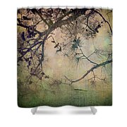 One Autumn Day Shower Curtain