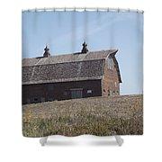 One Barn Hill Shower Curtain