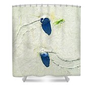 One Day Our Paths Will Cross Shower Curtain