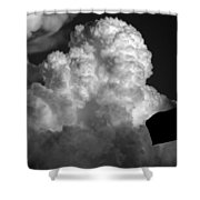 One Giant Cloud For Moon Kind Shower Curtain