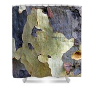 One Good Looking Bark Shower Curtain