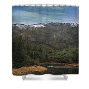 One Little Boat Shower Curtain
