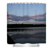One Moment In Peace Shower Curtain