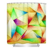 One Night Of Dreams Shower Curtain