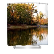 One October's Dream Shower Curtain
