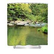 One Of Those Peaceful Places Shower Curtain