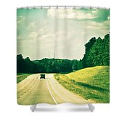 One Texas Afternoon Shower Curtain