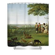 One Tree Hill - Greenwich Shower Curtain