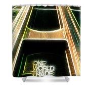 One World Trade Center Shower Curtain by Paul Ward