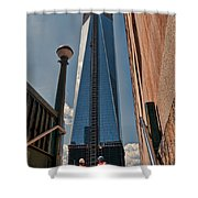 One Wtc First Look Shower Curtain