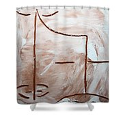 Only - Tile Shower Curtain