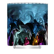 Only Fools Rush In Shower Curtain