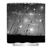 Only The Stars And Me Shower Curtain