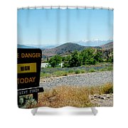 Only You Can Prevent Wildfires Shower Curtain