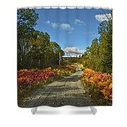 Ontario Backroad Shower Curtain