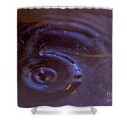 Oozing Purple Shower Curtain