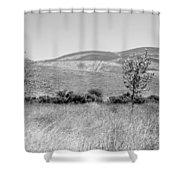 Open Hills Shower Curtain