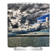 Open Skies Shower Curtain