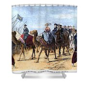 Opening Of The Suez Canal Shower Curtain