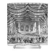 Opera: Don Giovanni, 1867 Shower Curtain