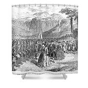 Opera: Grand Duchess, 1867 Shower Curtain by Granger