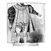 Operatic Singer Shower Curtain