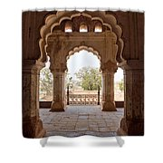 Orchha's Palace India Shower Curtain