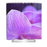 Orchid Pink Shower Curtain