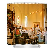 Ordination 3 Shower Curtain