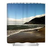 Oregon Beach Shower Curtain
