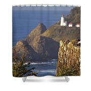 Oregon, United States Of America Heceta Shower Curtain