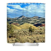 Oregons Painted Hills Shower Curtain
