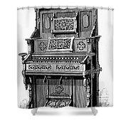 Organ, 19th Century Shower Curtain